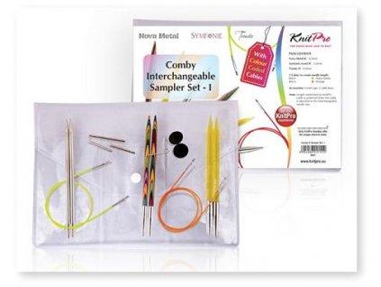 Jehlice KnitPro Sampler Set Comby 1