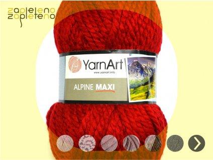 Alpine Maxi YarnArt Zapleteno
