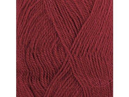 3900 tmavá červená uni colour