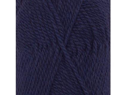 1709 tmavá modrá uni colour