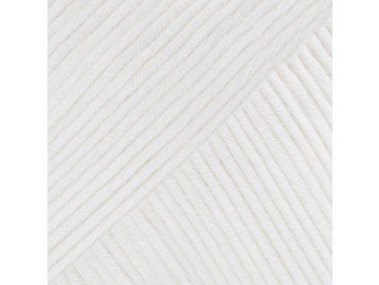 18 bílá uni colour