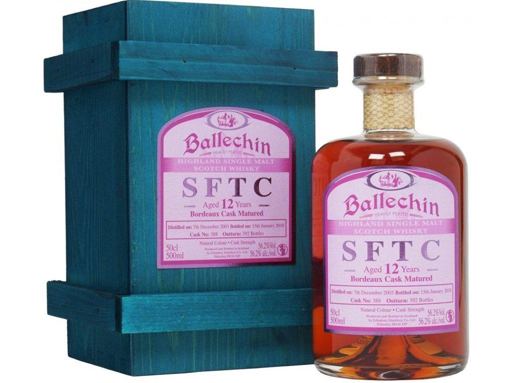 Ballechin SFTC 12yo Bordeaux Cask 2005 55,7% 0,5l