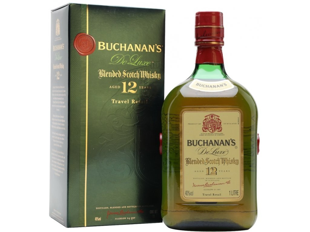 Buchanan's Deluxe 12yo 40% 1l