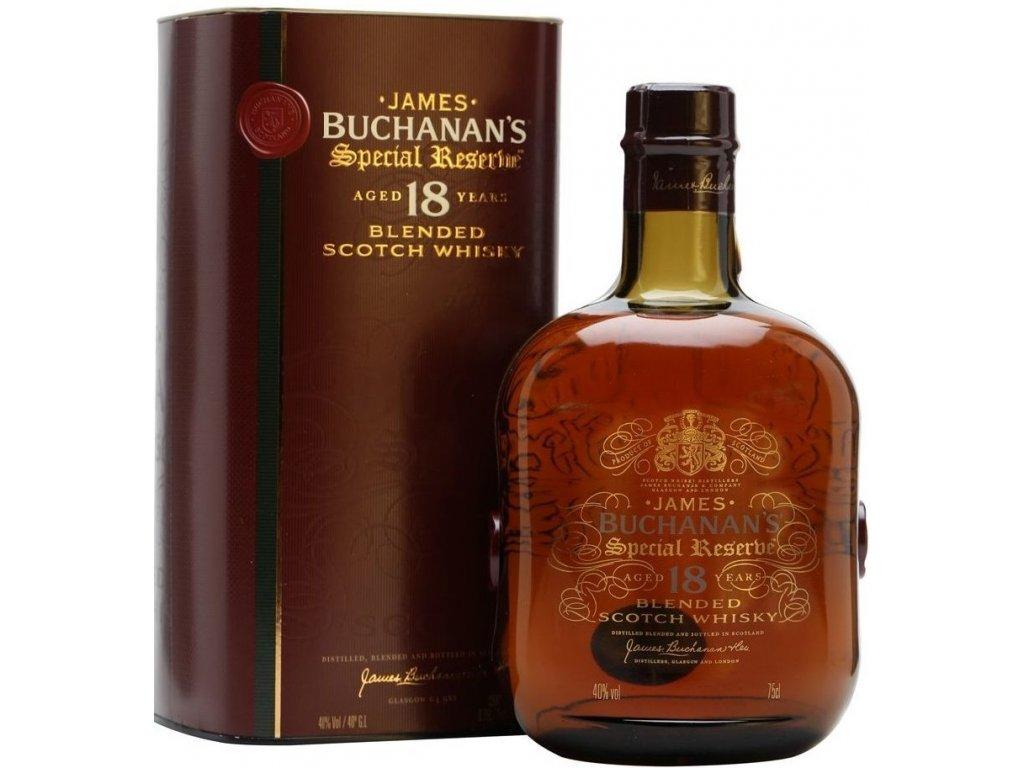 Buchanan's Special Reserve 18yo 40% 0,7l