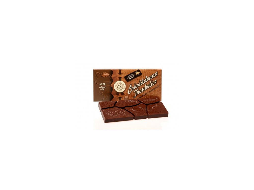 1052 3 cokolada mlecna 51 45 g cokoladovna troubelice