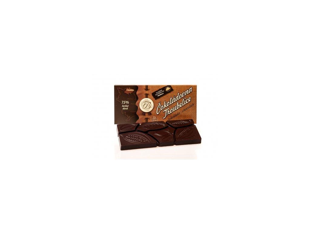 1055 3 cokolada horka 75 45 g cokoladovna troubelice