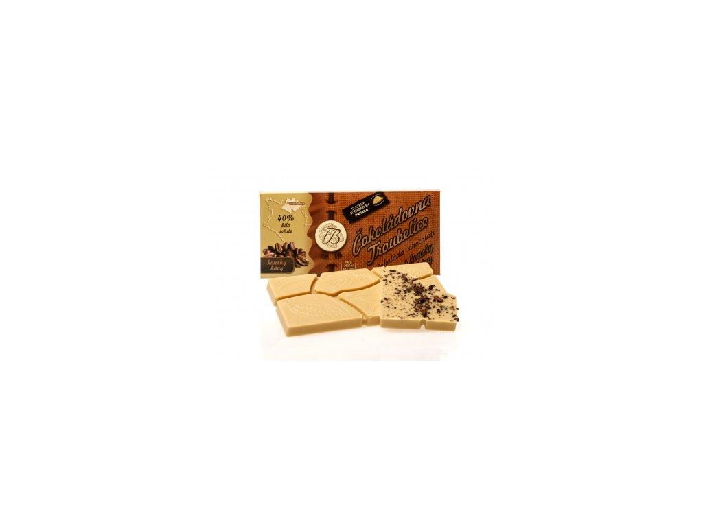 500 4 cokolada bila 40 s kavovymi zrny 45 g cokoladovna troubelice