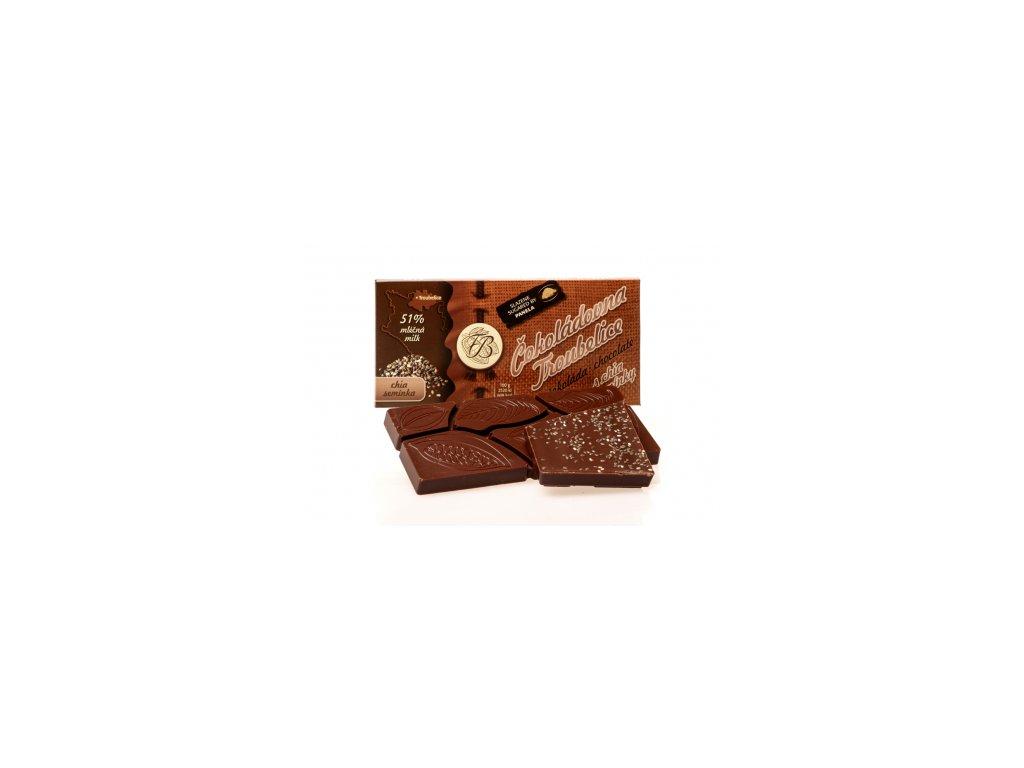 488 cokolada mlecna 51 s chia seminky 45 g cokoladovna troubelice