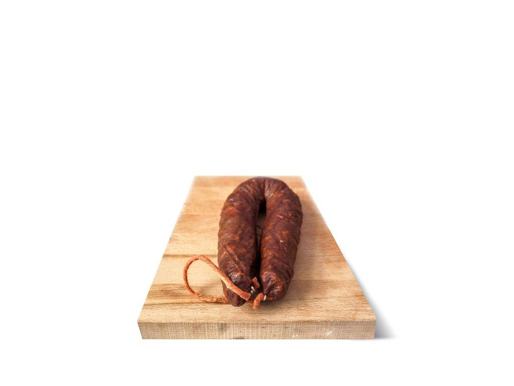 chorizo iberico atado picante 450g