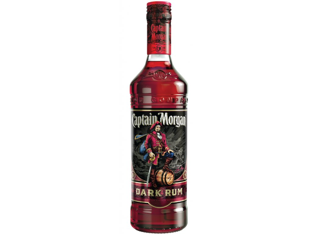 Captain Morgan Dark Rum 40% 1l