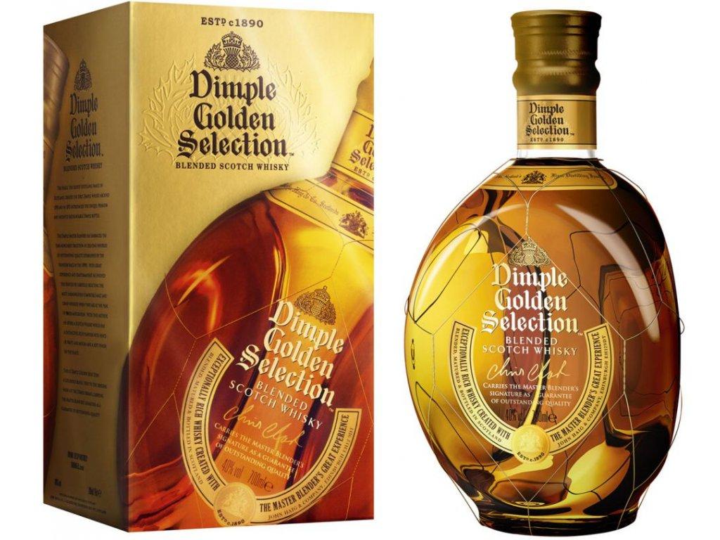 Dimple Golden Selection 40% 0,7l