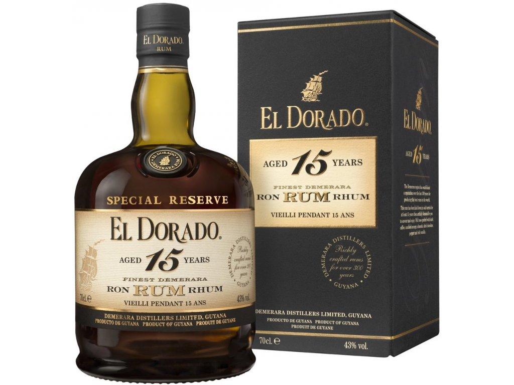El Dorado 15yo 43% 0,7l