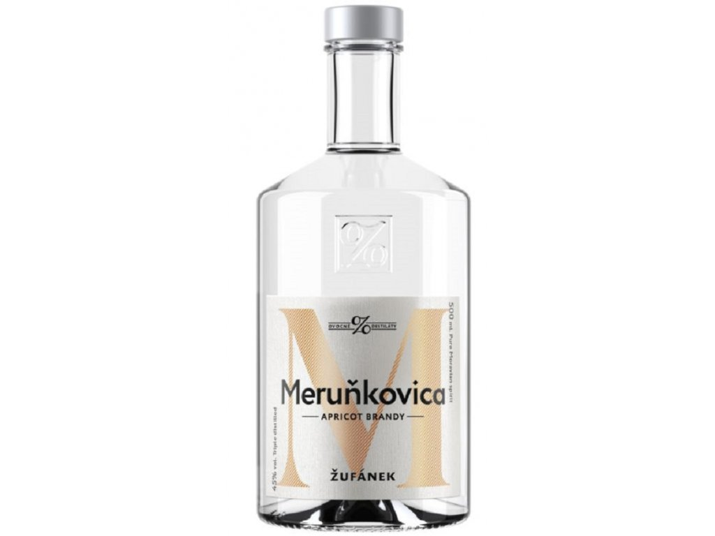 Meruňkovica Žufánek 45% 0,5l