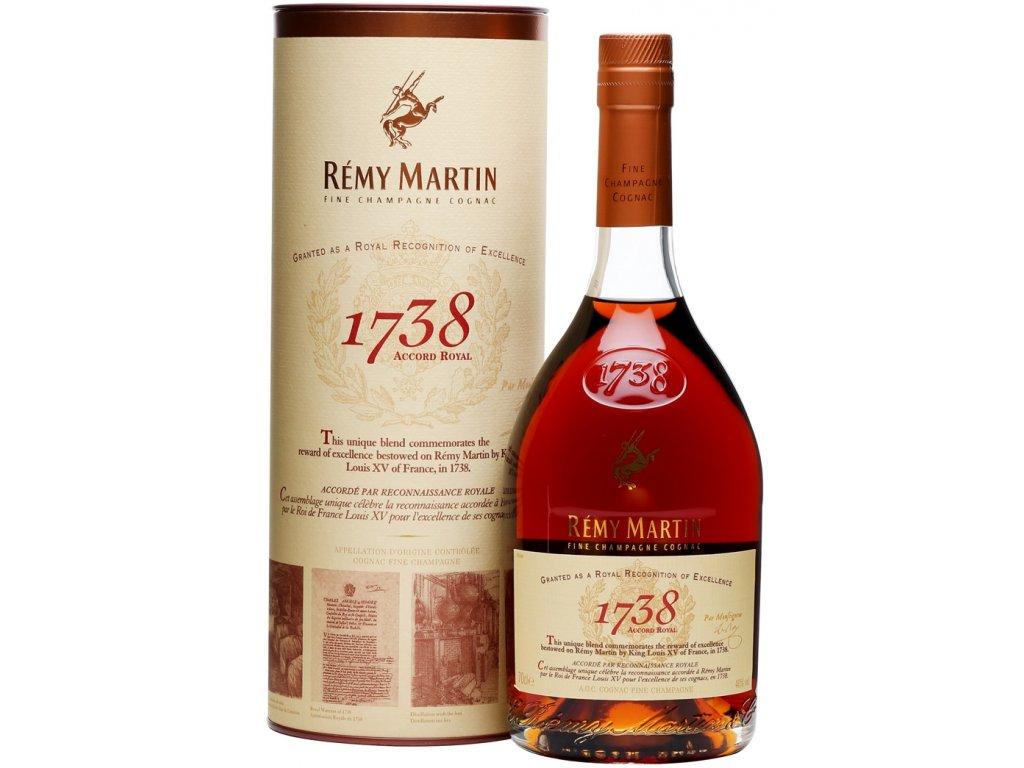 Remy Martin 1738 Accord Royal 40% 0,7l