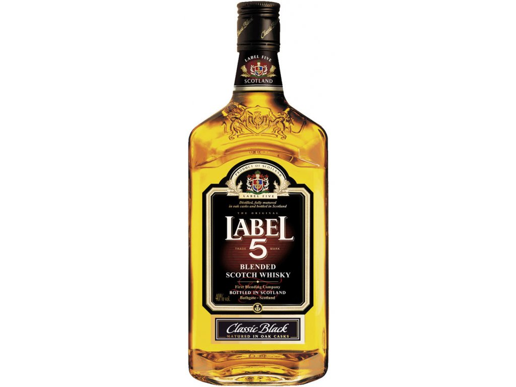 Label 5 40% 0,7l