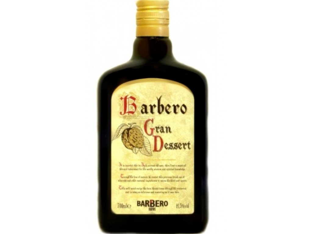 Barbero Gran Dessert 21,5% 0,7l
