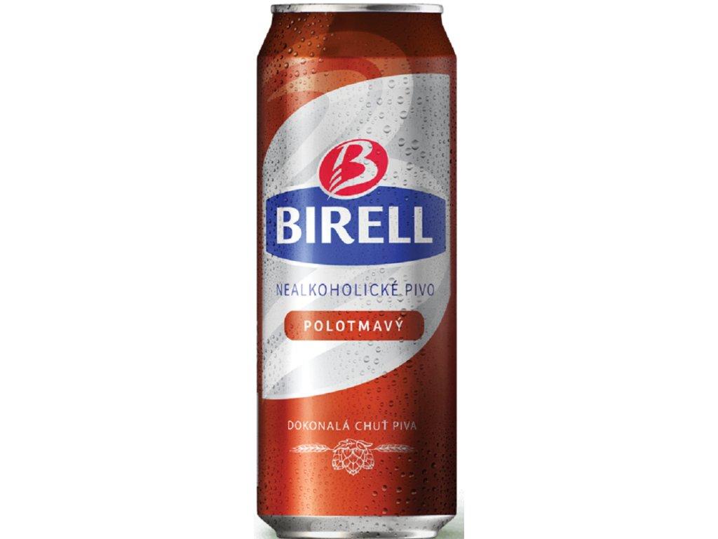 Birell Polotmavý plech 0,5l