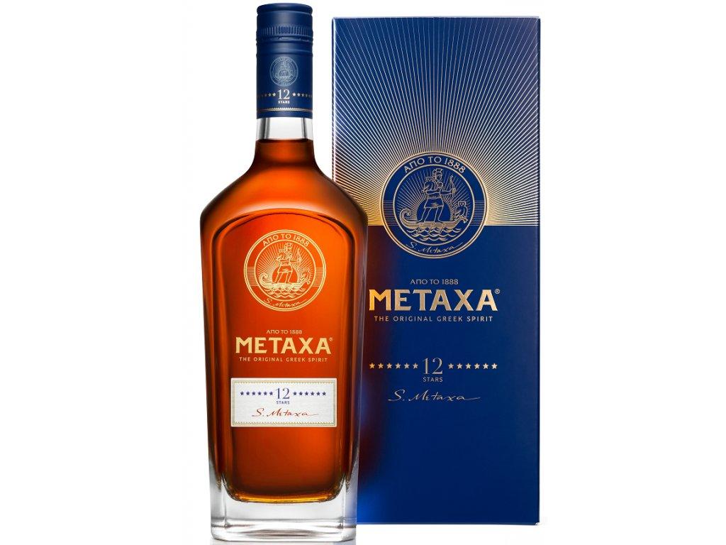 Metaxa 12* kartonek 40% 0,7l