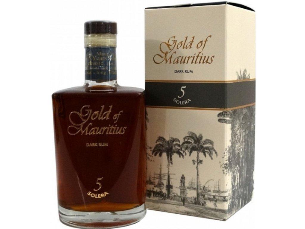 Gold of Mauritius 5yo 40% 0,7l