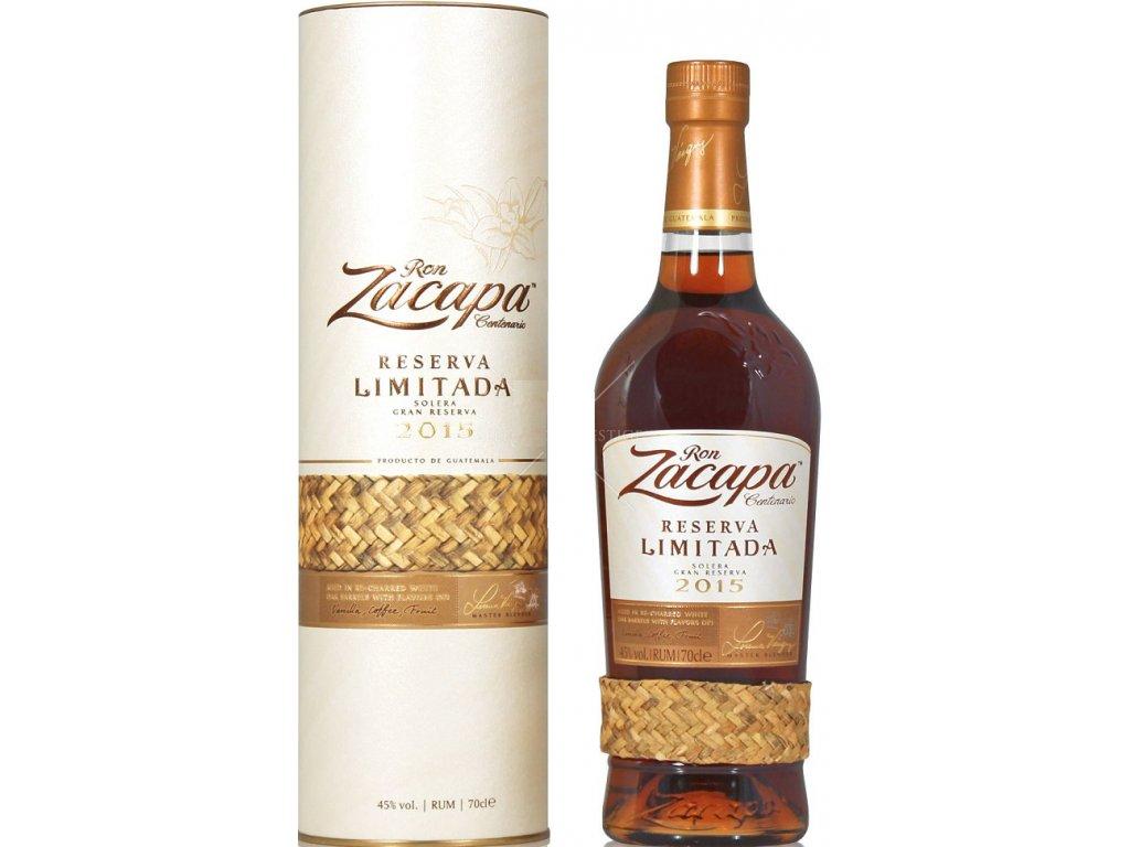 Ron Zacapa Reserva Limitada 2015 45% 0,7l