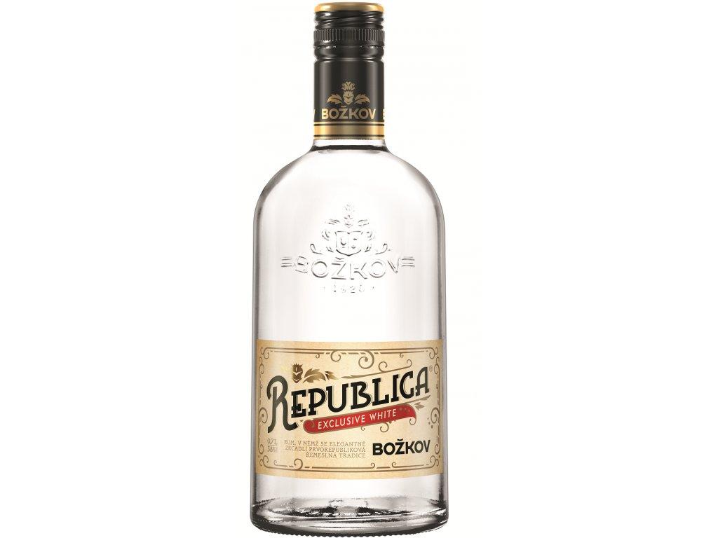 Božkov Republica Exclusive White 38% 0,7l