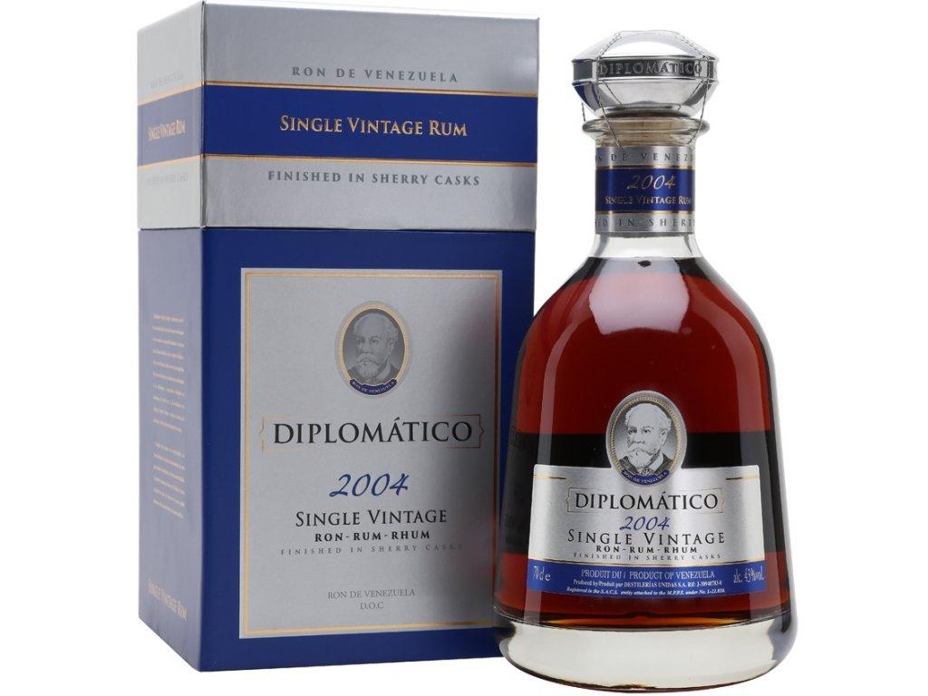 Diplomatico Single Vintage 2004 43% 0,7l