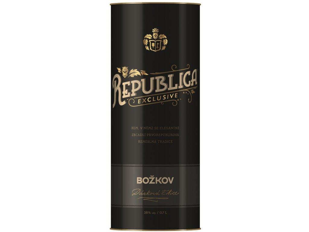 Božkov Republica Exclusive tuba 38% 0,7l