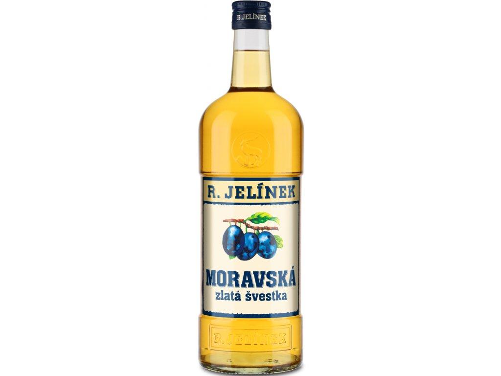 Moravská Zlatá Švestka 38% 1l