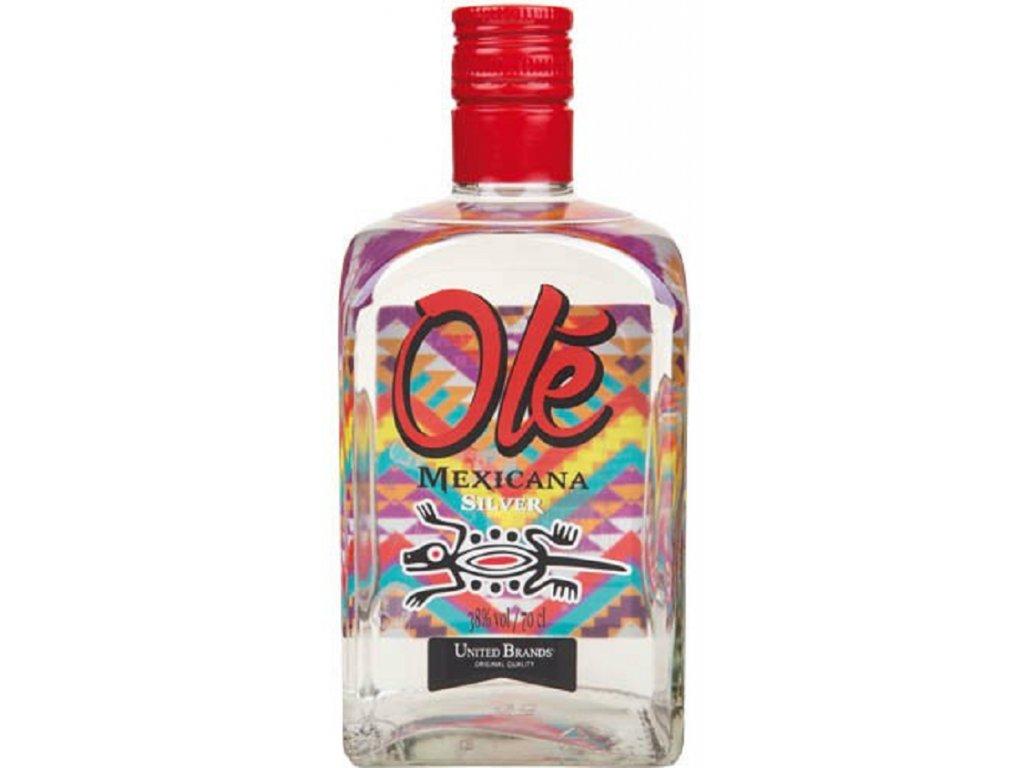 Olé Mexicana Silver 38% 0,7l