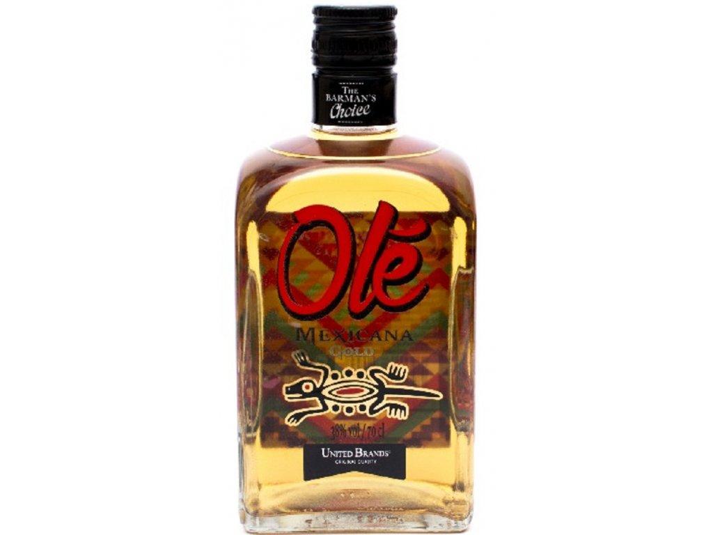 Olé Mexicana Gold 38% 0,7l