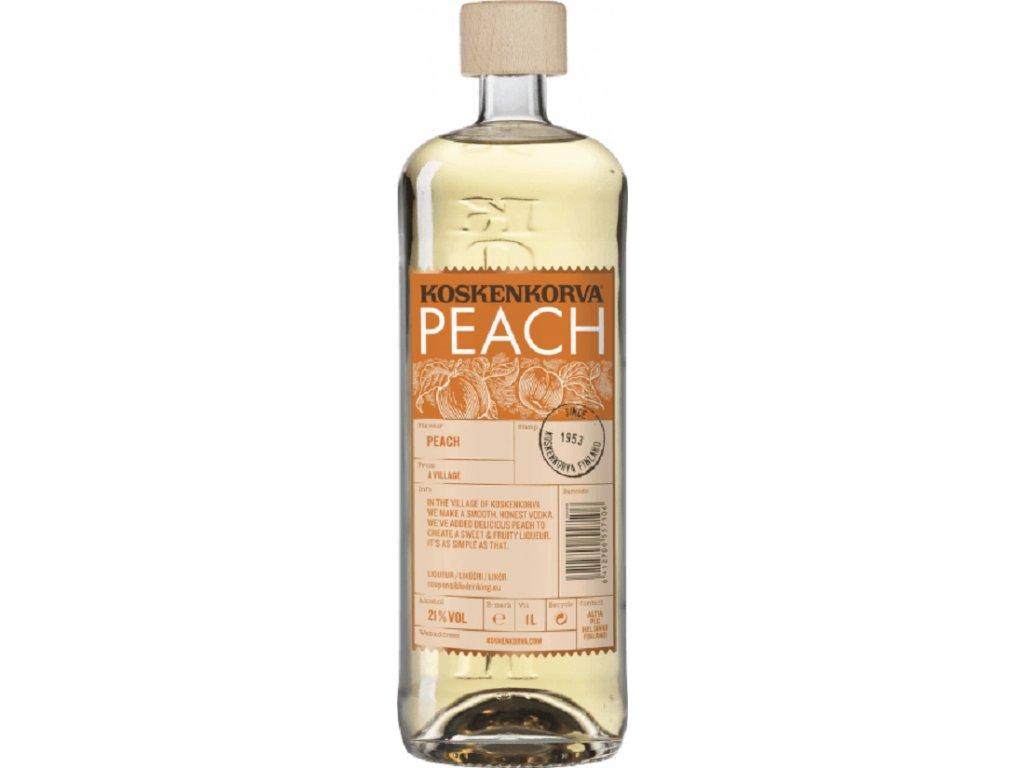 Koskenkorva Peach 21% 1l
