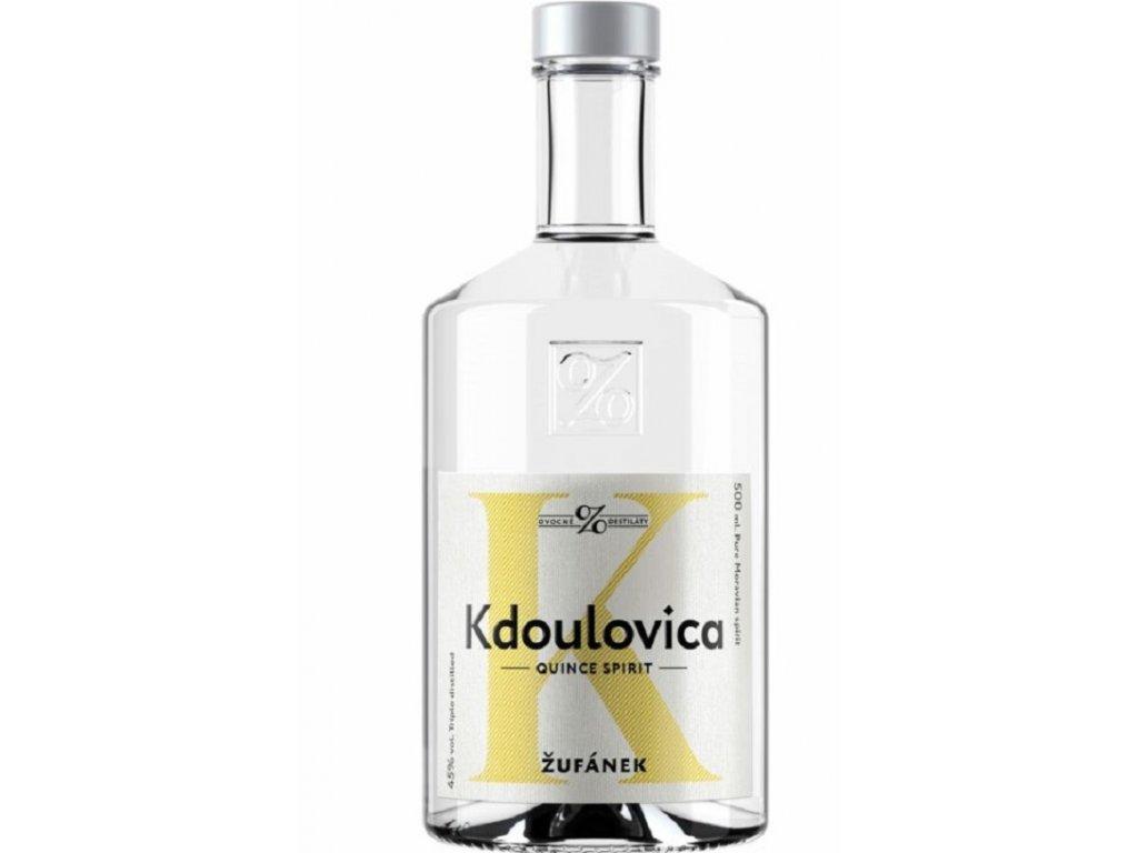 Kdoulovica Žufánek 45% 0,5l