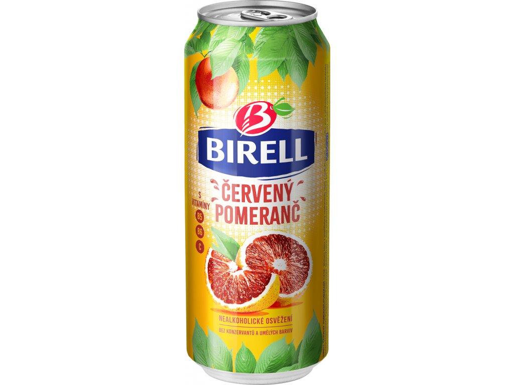 Birell Červený Pomeranč plech 0,5l