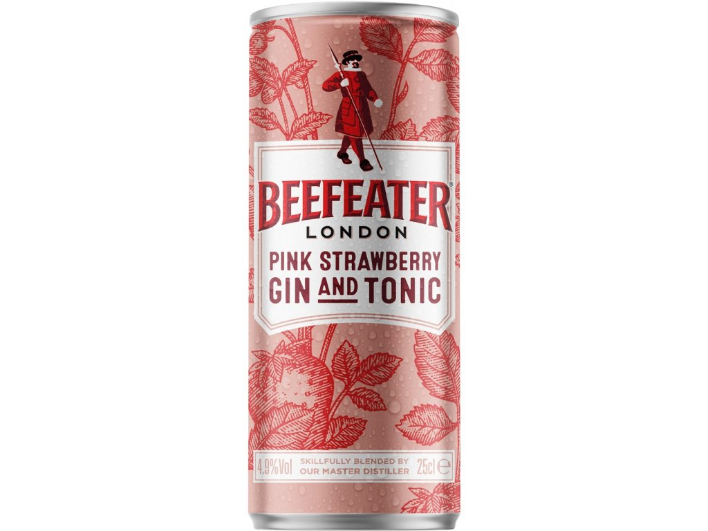 Beefeater Pink & Tonic 4,9% 0,25l