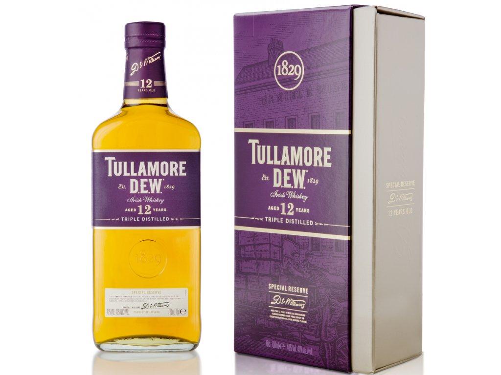 Tullamore D.E.W. 12yo 40% 0,7l