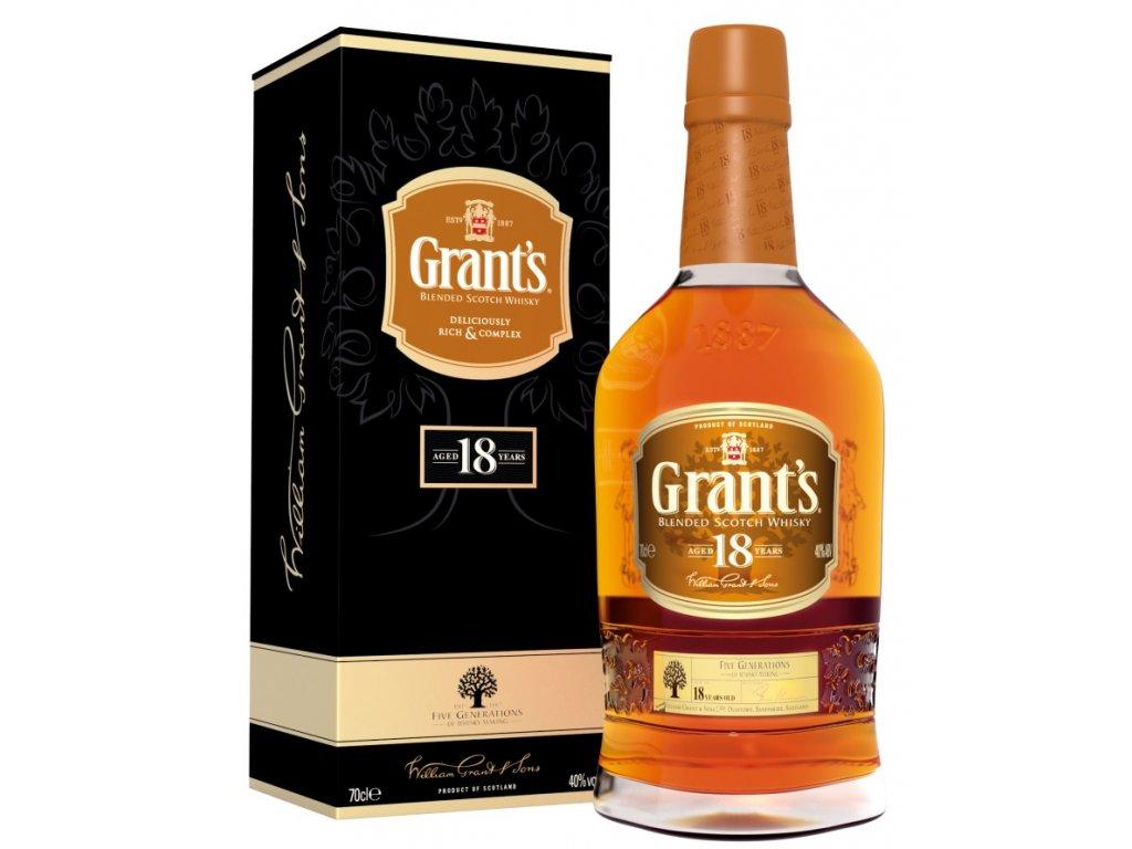 Grant's 18yo 40% 0,7l
