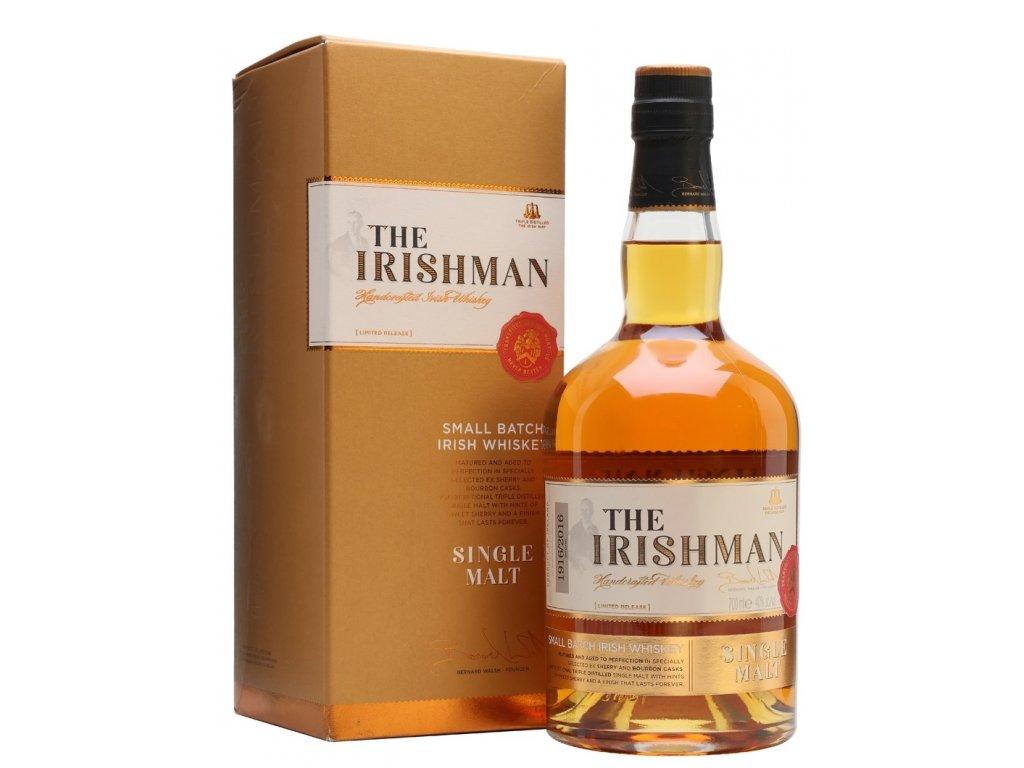 The Irishman Small batch Single Malt 40% 0,7