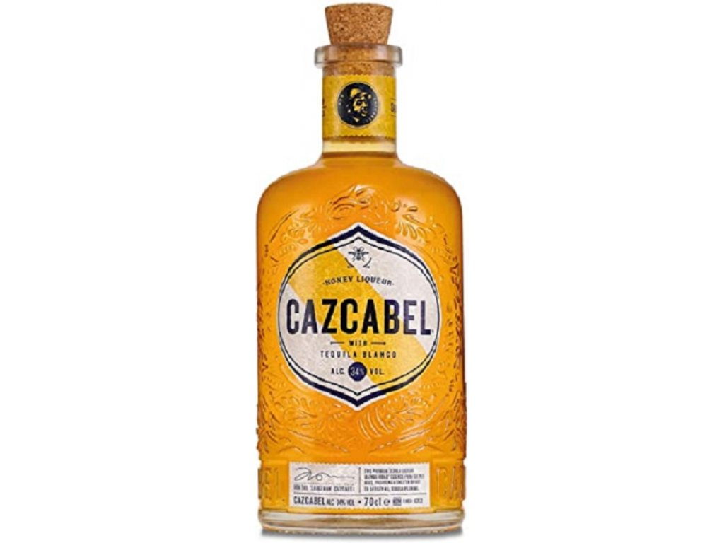 Cazcabel Tequila Honey 34% 0.7l