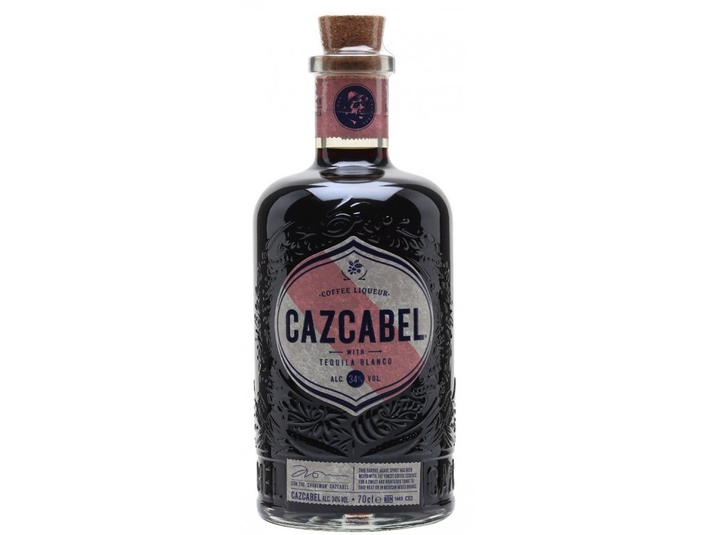 Cazcabel Tequila Coffee 34% 0.7l