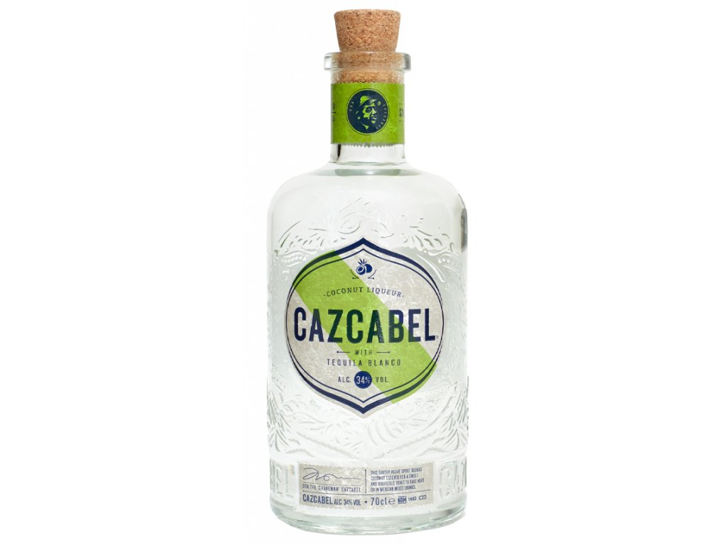 Cazcabel Tequila Coconut 34% 0.7l