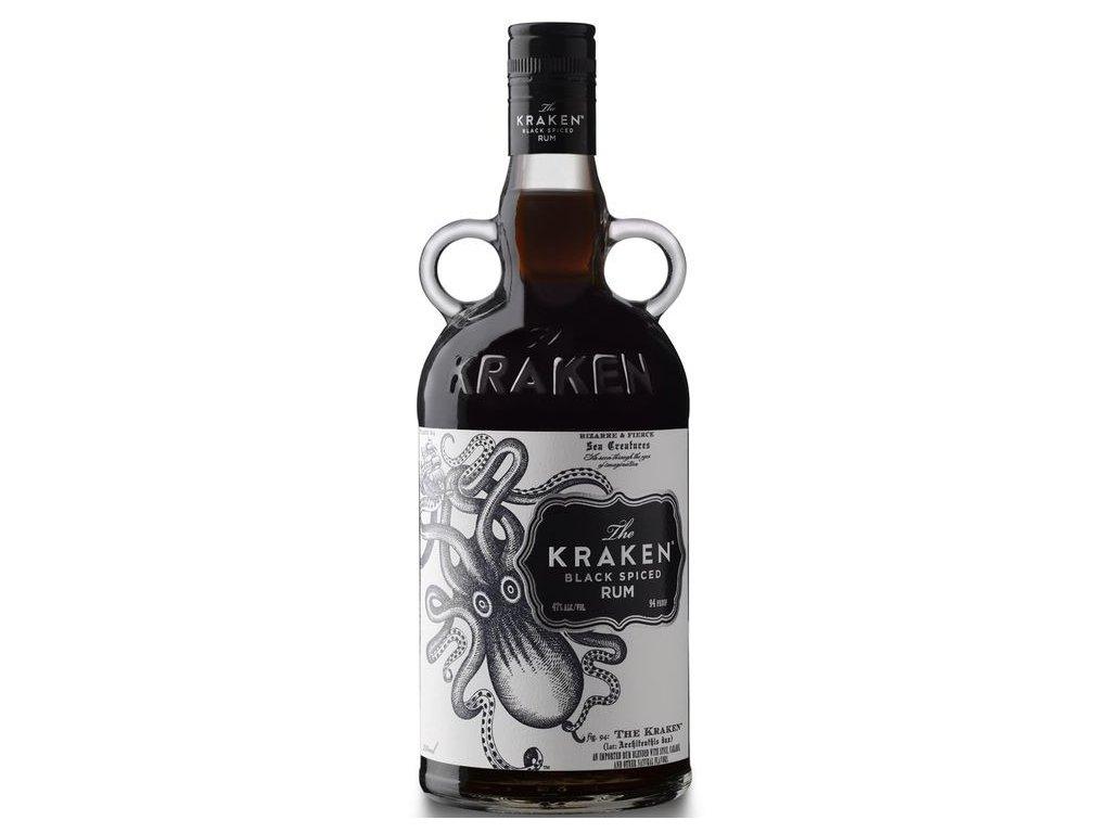 Kraken Black Spiced Rum 40% 1l