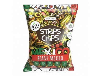 strips chips fazole mexico 90g 1595