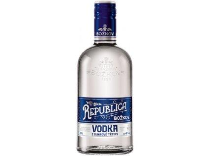 Božkov Republica Vodka 40% 0,7l