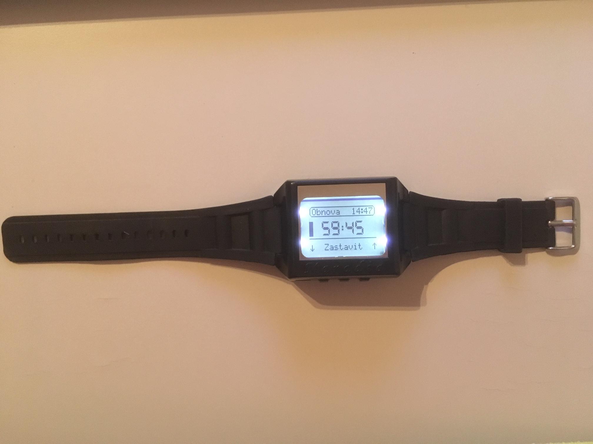 Kondiční hodinky
