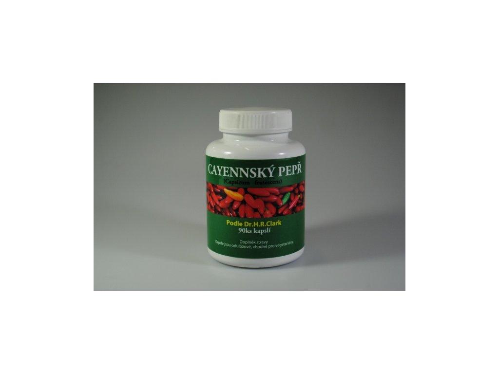 Cayennský pepř (Capsicum frutescens) mletý