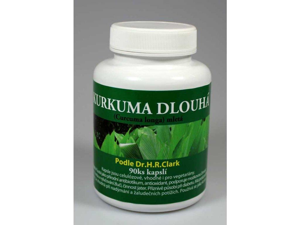 Kurkuma dlouhá (Curcuma longa) mletá - sušený kořen