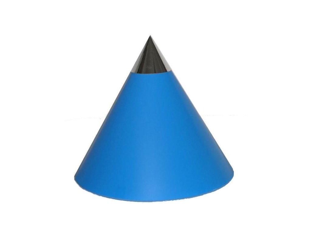 Kuželová pyramida jednobarevná (22 cm)