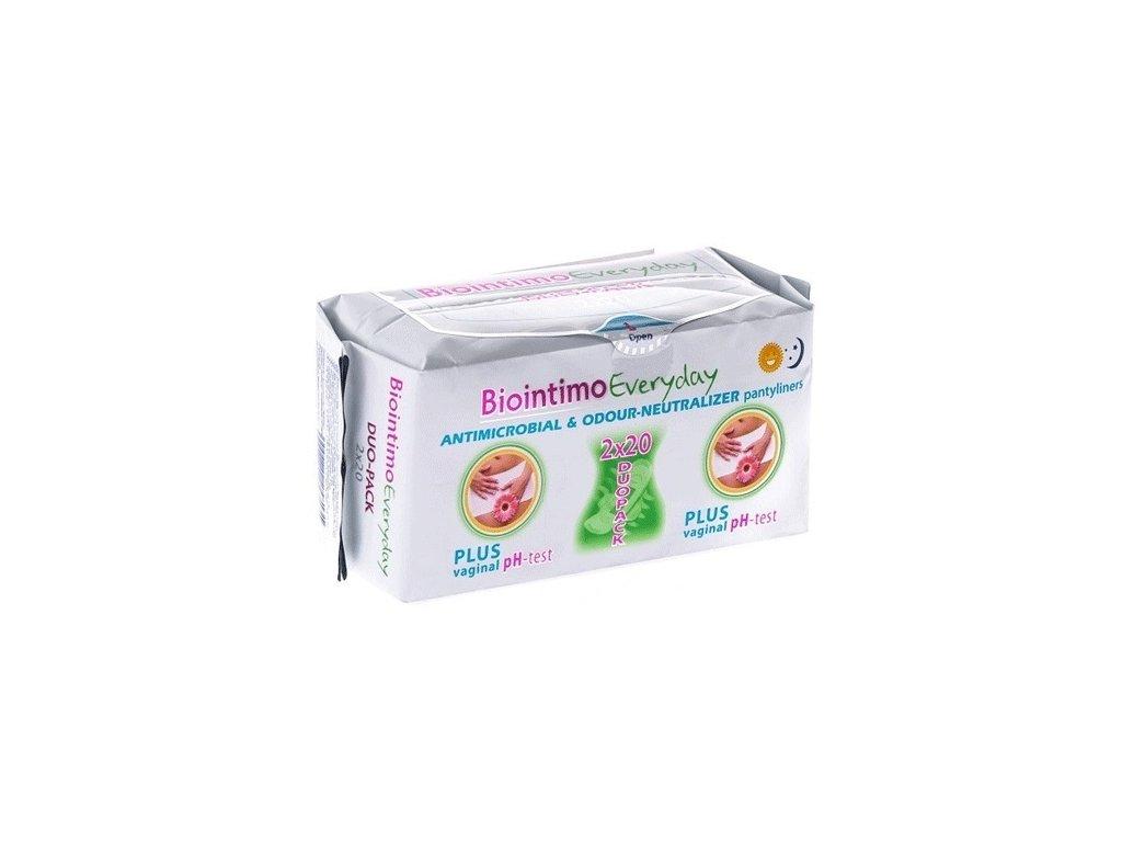 Hygienické vložky - Intimky Biointimo DUO PACK