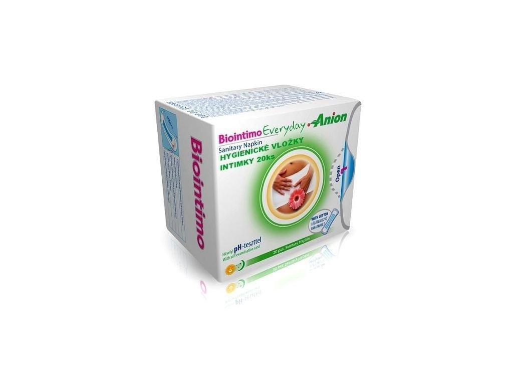 Hygienické vložky - Intimky Biointimo