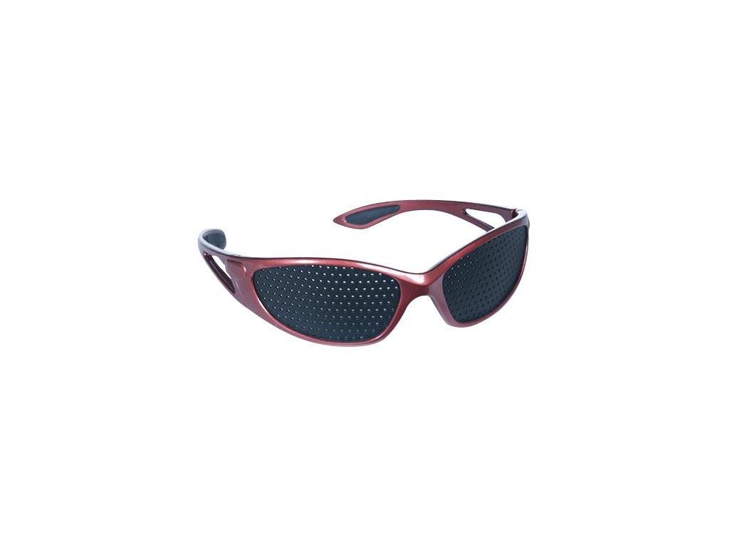 Děrované brýle červené - Sport